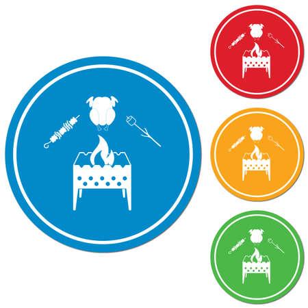 grillé icône