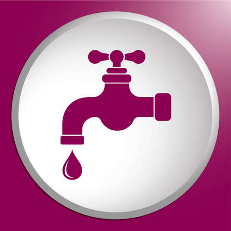 Water tap icon.