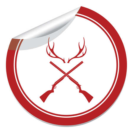 Hunting club icon.