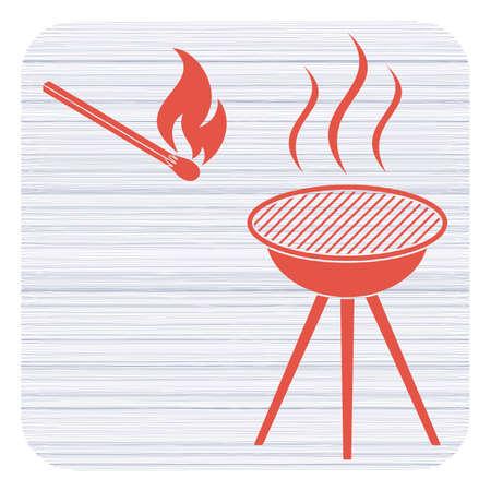 The barbecue icon
