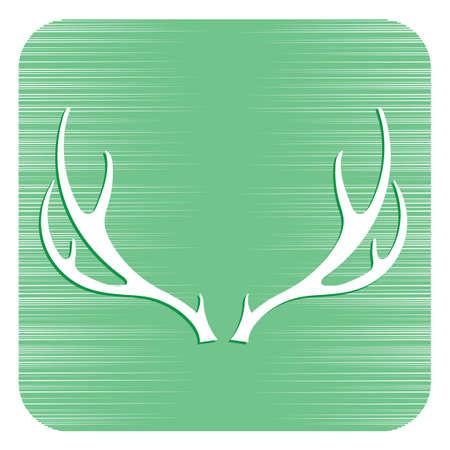 Hunting club logo icon Vector illustration