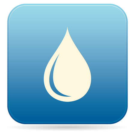 Water drop icon vector illustration.