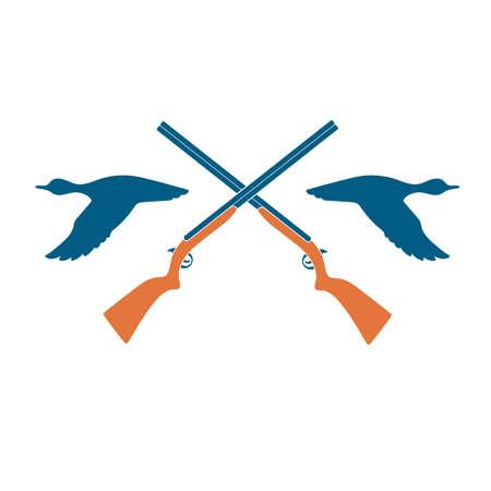 Hunting club icon vector illustration.