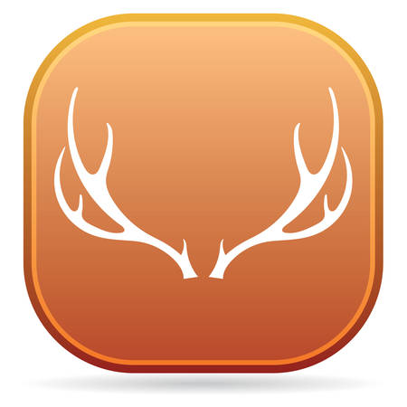Hunting club logo icon.