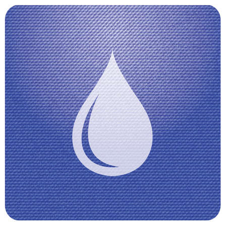 Water drop icon. Vector illustration Illustration