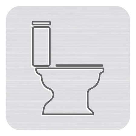 Icône de symbole de travail de plomberie. Illustration vectorielle