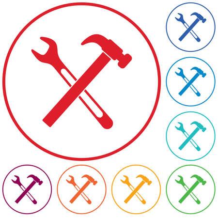 Plumbing work symbol icon. Vector illustration 版權商用圖片 - 127520741