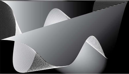 Abstract templates with curvy lines. Wavy blended simple background