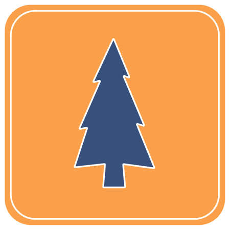 Fir Trees forest flat icon