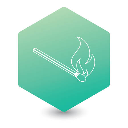 Match fire icon.