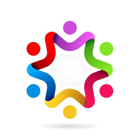 star people logo template Logo