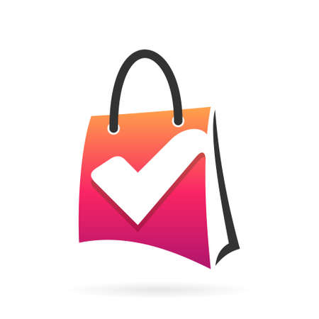 check bag logo icon Illustration