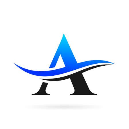 A logo with air symbol