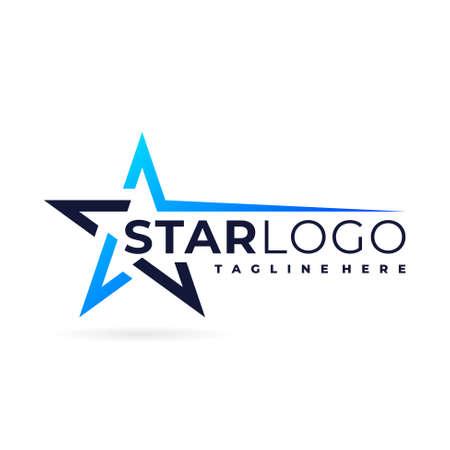 spark star logo vector symbol