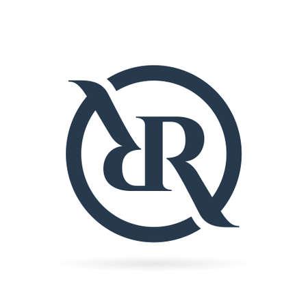 RR logo with circle symbol