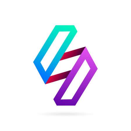 S logo with diamond symbol