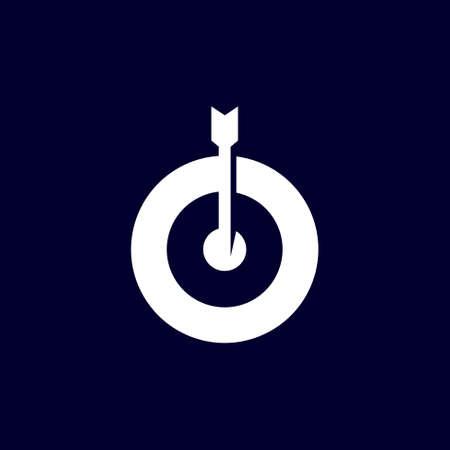 target logo with arrow in circle symbol