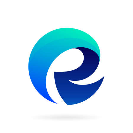 R logo with bold concept