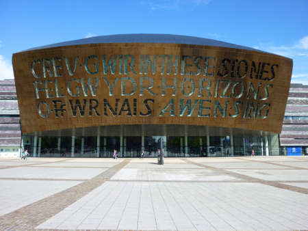 Millennium Center, Cardiff
