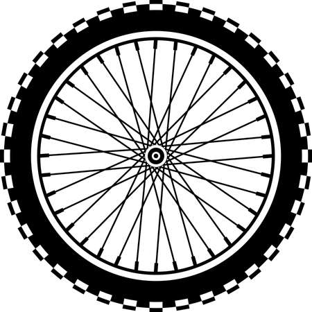 Roue de vélo de montagne