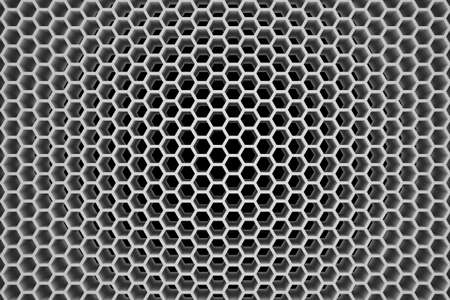 3d Rendered Honeycomb - Background - Neutral Tone