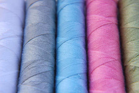 Reels of Cotton Thread in Different Colours