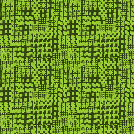 Abstract Seamless Grunge Texture Pattern (4up) - Shades of Green