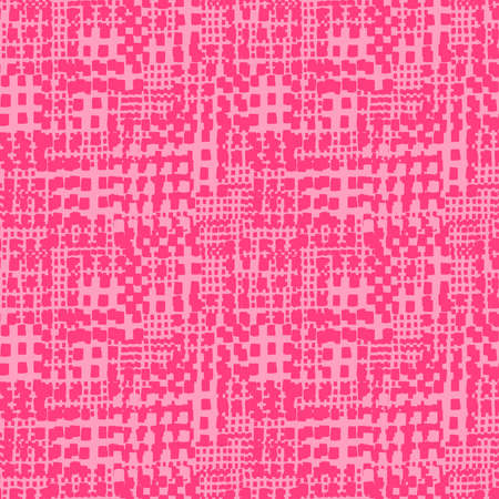 Abstract Seamless Grunge Texture Pattern (4up) - Crimson and Pink