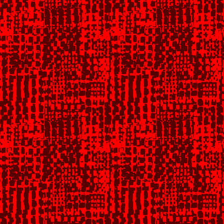 Abstract Seamless Grunge Texture Pattern (4up) - Shades of Red