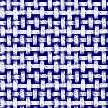 Shibori Tie Dye Style Interwoven Abstract Seamless Pattern Dark Blue and White (indigo style)