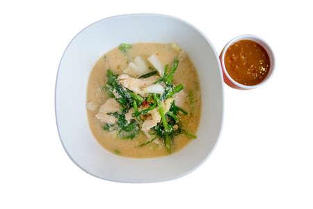 Sukiyaki,Shabu(Thai Suki) asian food in broth Mixed sea food with prawn,squid slide,eggs,vermicelli and vegetable.
