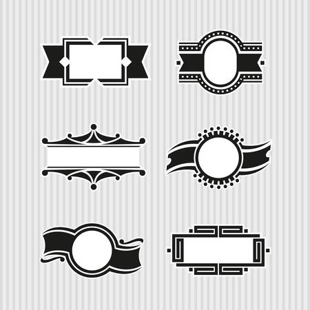 Medallions, Seals and Badges Stock Vector - 17121807