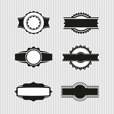 Medallions, Seals and Badges Stock Vector - 17121814