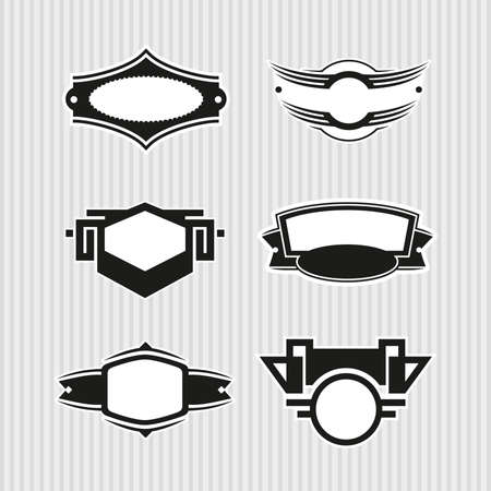 Medallions, Seals and Badges Stock Vector - 17121801