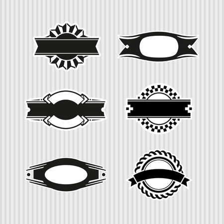 Medallions, Seals and Badges Stock Vector - 17121804