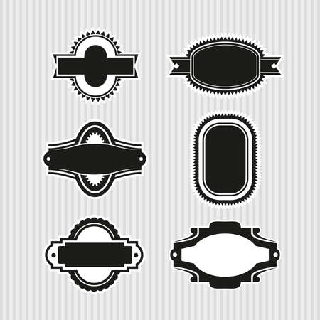 Medallions, Seals and Badges Stock Vector - 17121819
