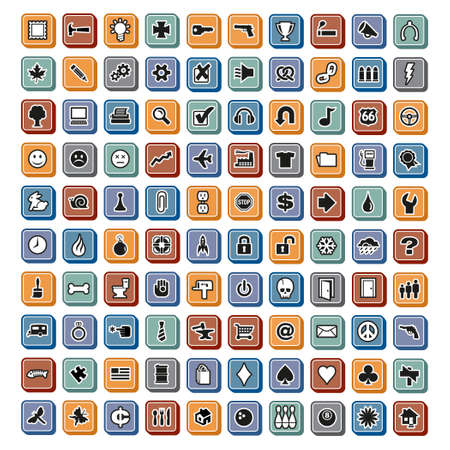 Useful Icons for All Occasions Stock Vector - 17569391