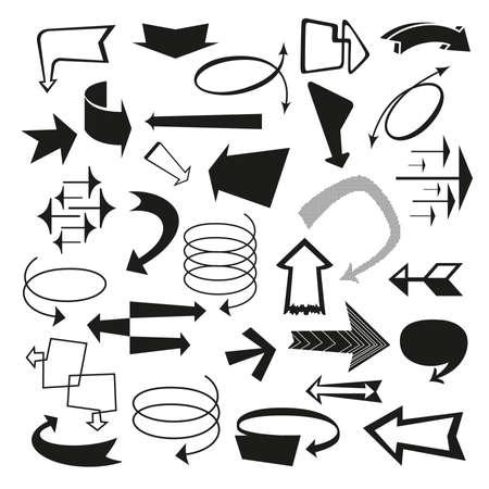 infinity symbol: Retro Arrows and Pointers
