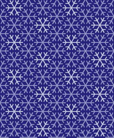 Abstract Snowflake Background Pattern Tile