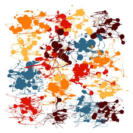 Splatter Paint Drip Art Stock Vector - 17569392