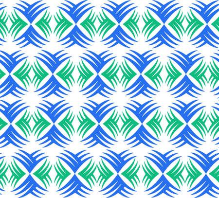 抽象的な背景テクスチャ タイル ヤシの葉  イラスト・ベクター素材