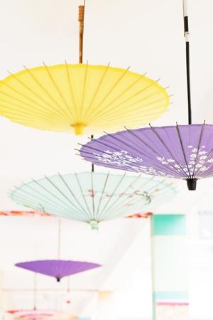 paper umbrella: Oil-paper umbrella is a kind of paper umbrella originated in China