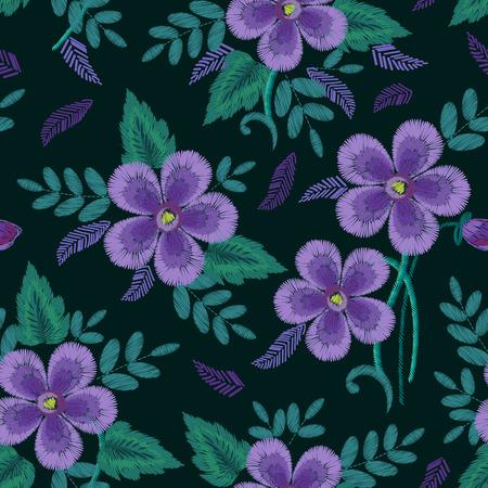 Floral Ornamental Fashion print Illustration