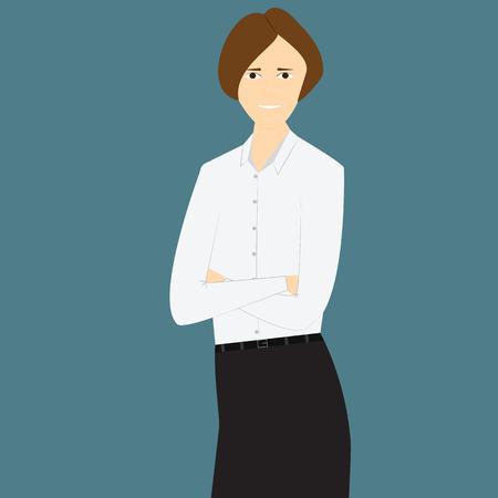 isoler: isoler illustration de regard affaires