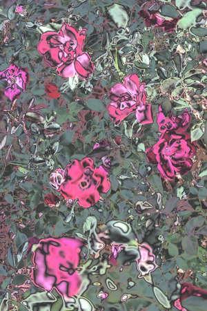 chrome flowers Imagens