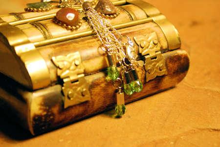 peridot jewelry Stock Photo