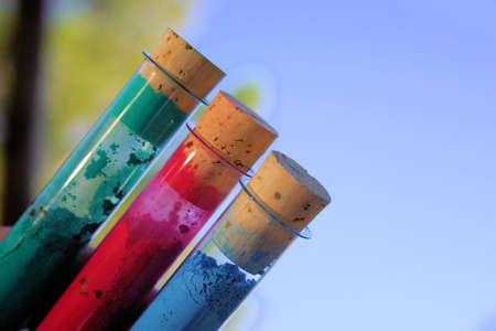 pigments: pigments Stock Photo