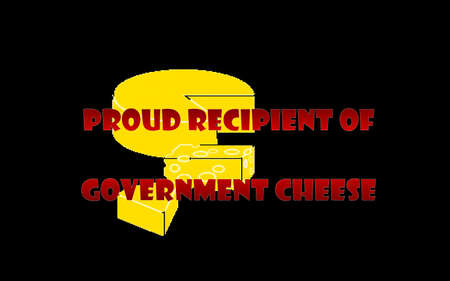 spoof: Government Cheese