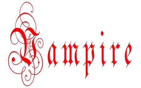 spoof: Vampire Stock Photo