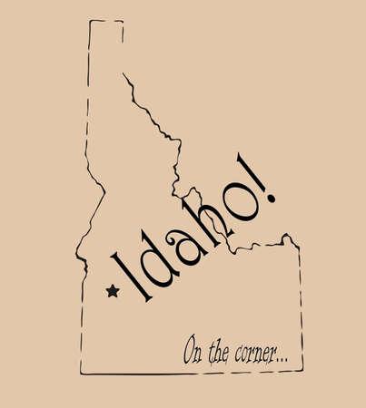 spoof: Idaho Stock Photo